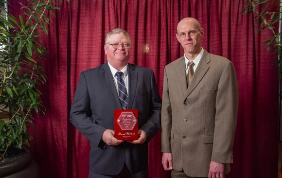 Whitlock Receives Distinguished Alumni Award