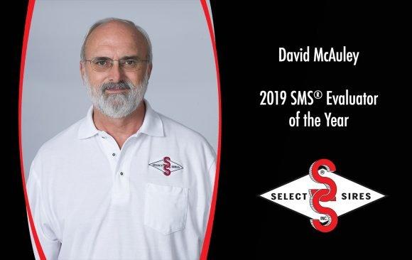 David McAuley Named SMS® Evaluator of the Year