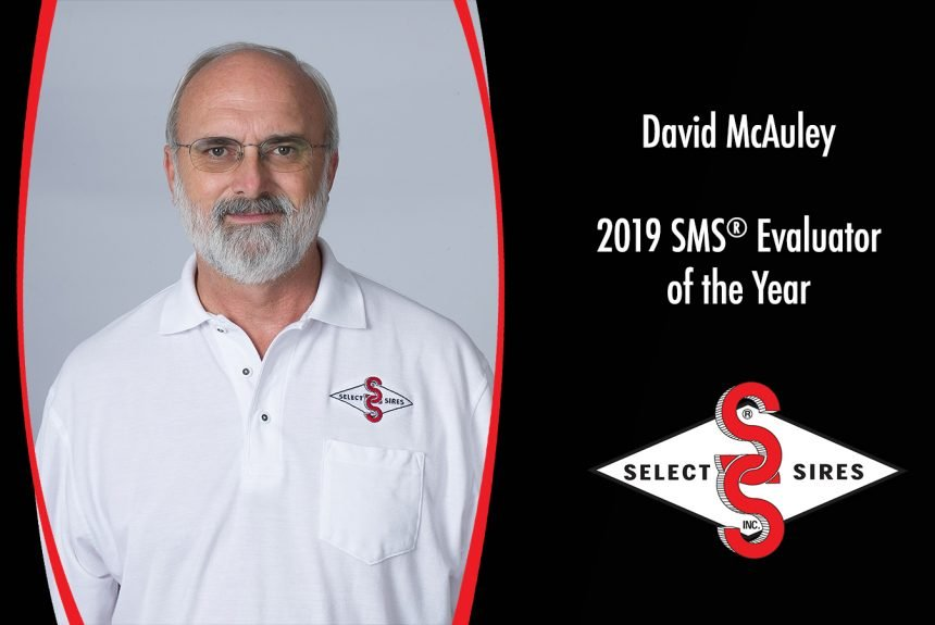 David McAuley Named SMS® Evaluator of the Year