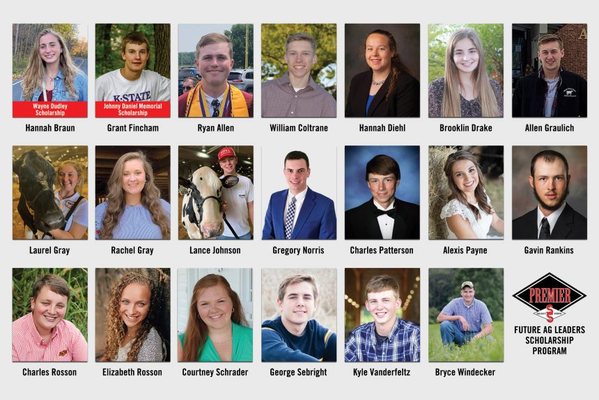 Twenty Students Receive a Total of $20,000 in 2021 Premier Select Sires Scholarships